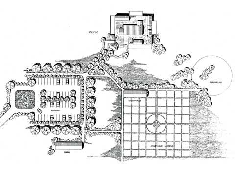 Solstice One, site plan