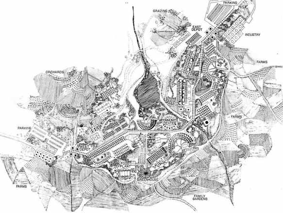 Ecoville site plan