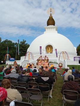 Peace Pagoda Celebration, October 2009