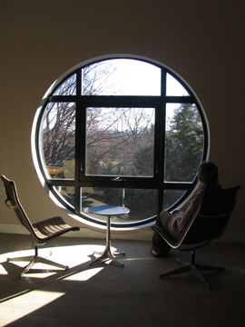 Nacul Center, round window