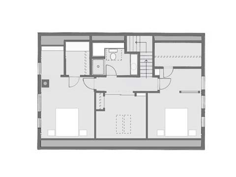 Perfect Cape, second floor plan