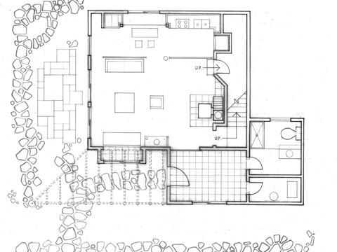 Vermont Cabin floor plan