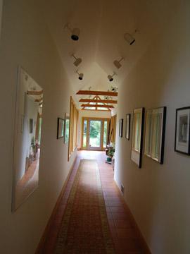 Hapgood residence hallway