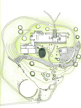Inglese Queen Truss site plan