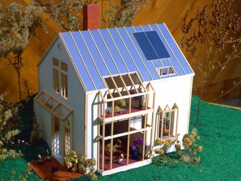 Solar Cape - model