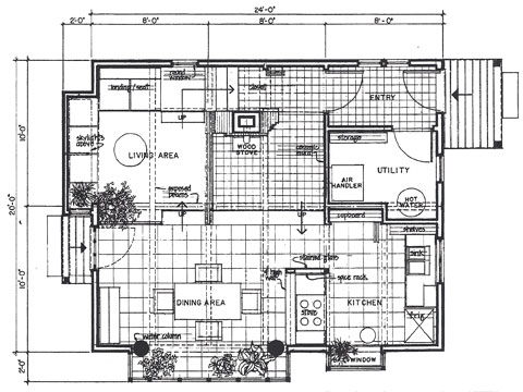 Solar Cape - 1st Floor Plan