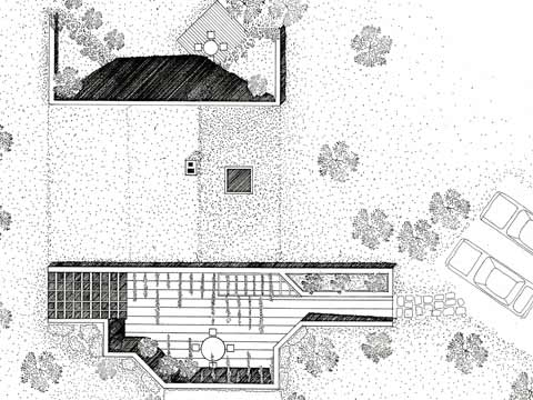 Turf House II - site plan