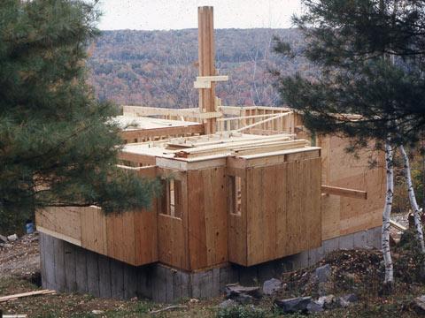 Cube House construction