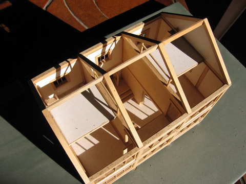 Post & Beam house model