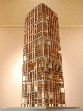 Andromeda model, a main building